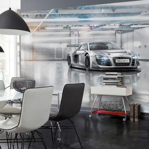 Fototapet Urban – Audi R8 Le Mans