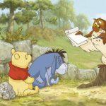 Fototapet Copii Winnie the Pooh - Prima Lectie