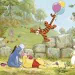 Fototapet copii Winnie the Pooh - Baloane 8-460