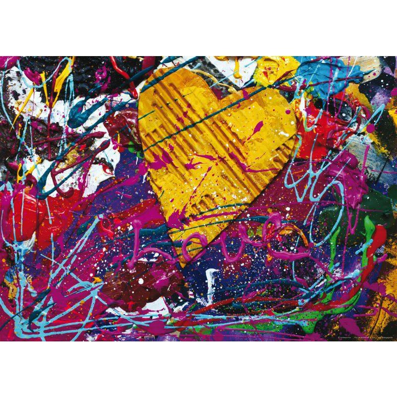 Fototapet design - Paint Love - Catalog