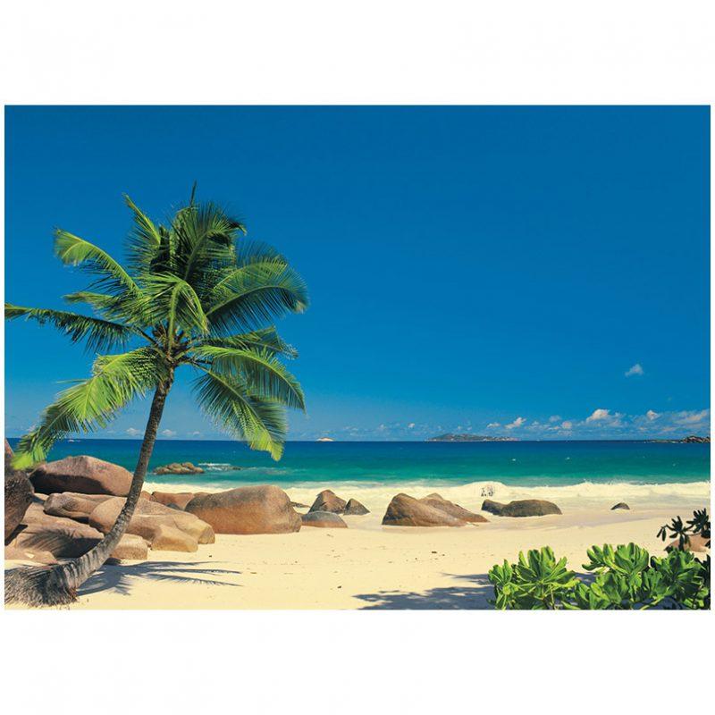 Fototapet natura - Plaja Seychelle