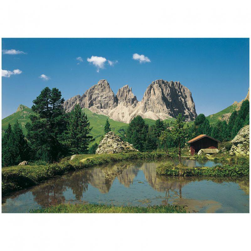 Fototapet peisaj montan Dolomite
