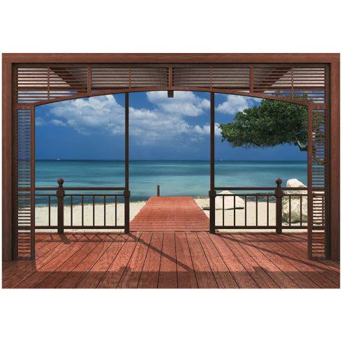 Fototapet peisaje - Casa de pe plaja
