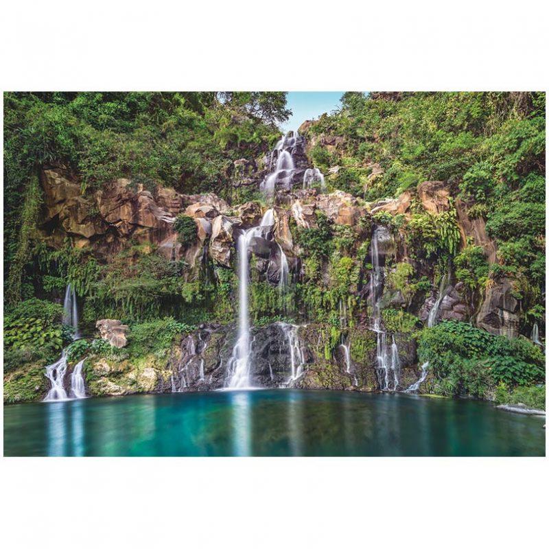 Fototapet peisaje cascade