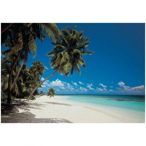 Fototapet plaja – Peisaj Maldive