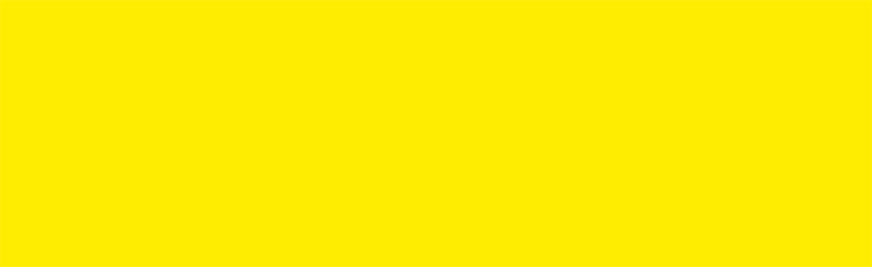 Sticky back plastic Glossy Lemon Yellow