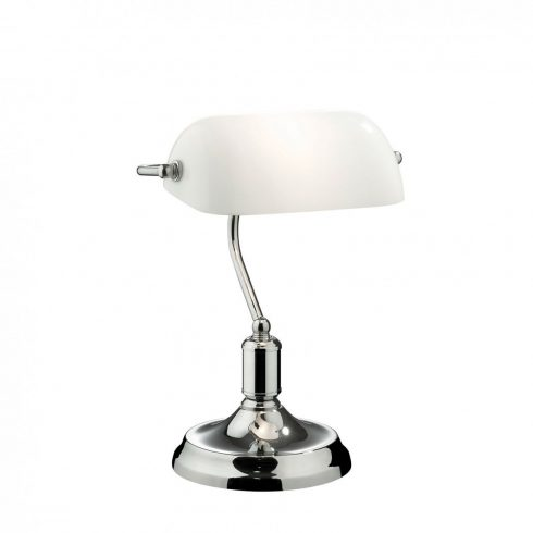 Lampa birou retro - Lawyer TL1 Crom