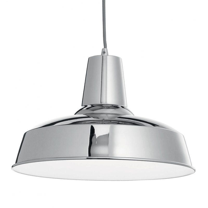 Lampa metal pentru tavan Ideal Lux Moby SP1 Crom