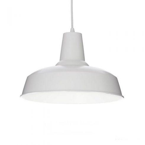 Lampa alba pentru tavan Moby SP1