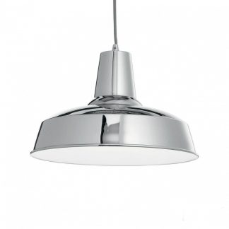 Lampa metal tavan Ideal Lux Moby SP1 Crom