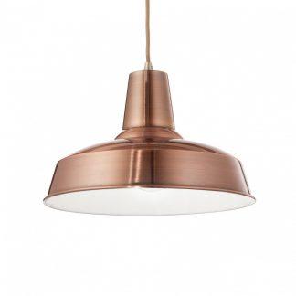 Lampa de tavan Ideal Lux – Moby SP1 Cupru