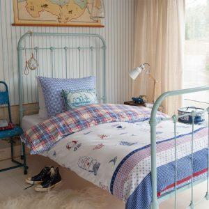 Lenjerie de pat copii stil Marin - Captain Ahoy Opera