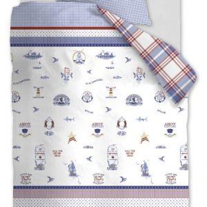 Lenjerie de pat copii stil Marin - Captain Ahoy Schita