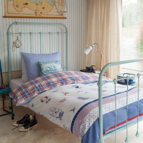 Lenjerie de pat copii stil marin Captain Ahoy - Catalog