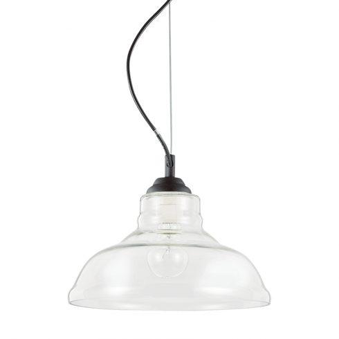Pendul sticla pentru tavan Ideal Lux Bistro' SP1