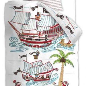 Lenjerie de pat copii - Corabia Piratilor Schita