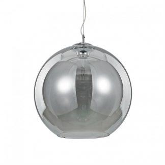 Lampa rotunda Ideal Lux - Nemo Fume SP1 D40