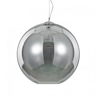 Lampa rotunda Ideal Lux - Nemo Fume SP1 D50