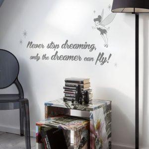 Sticker Tinker Bell - Never stop dreaming pachet