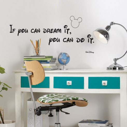 Sticker Disney - You can do it
