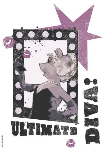 Sticker Miss Piggy - Ultimate Diva Produs