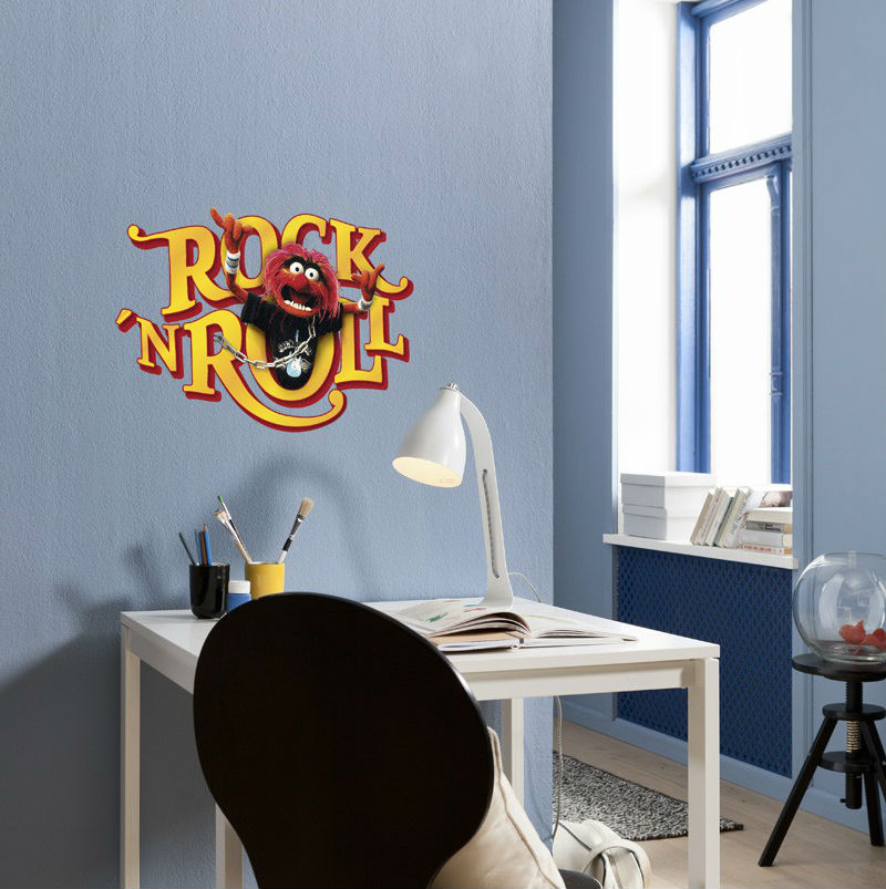 Sticker Muppets - Rock'n Roll
