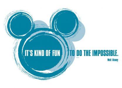 """Sticker Disney - """"It's kind of fun"""" Produs"""