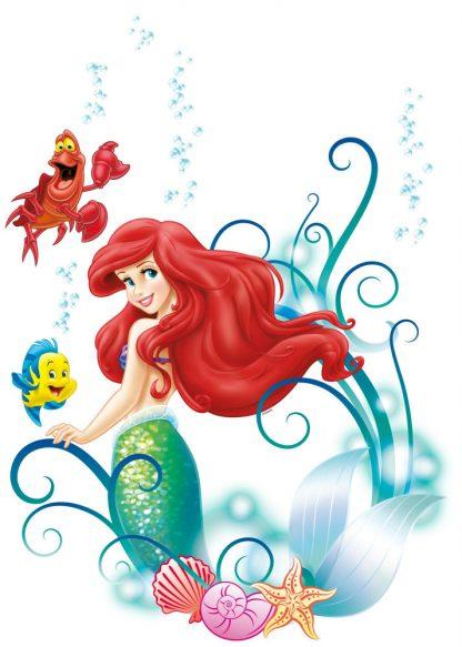 Sticker Copii Ariel - Mica Sirena si Prietenii Produs