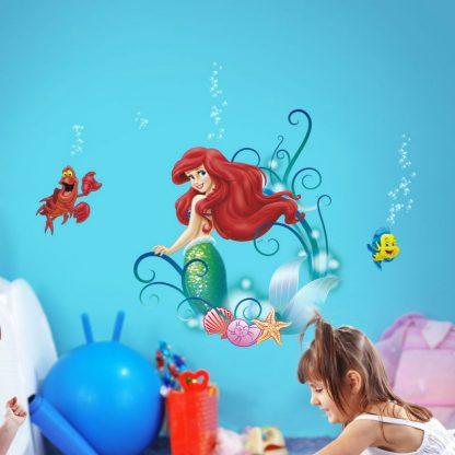 Sticker Copii Ariel - Mica Sirena si Prietenii