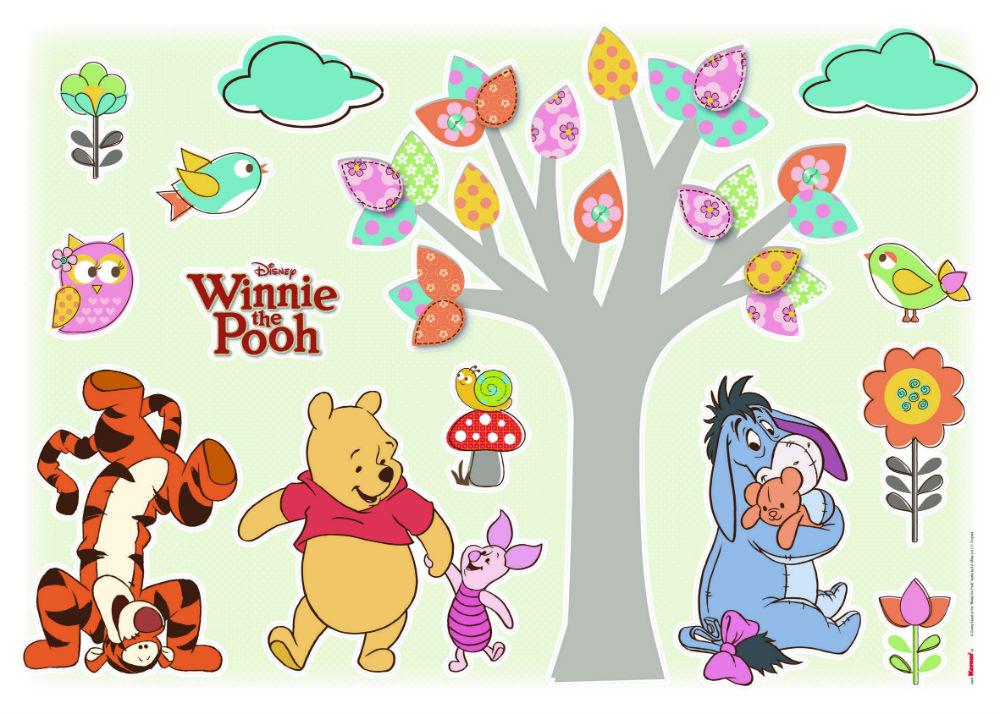 Sticker Copii Winnie the Pooh si Prietenii Produs