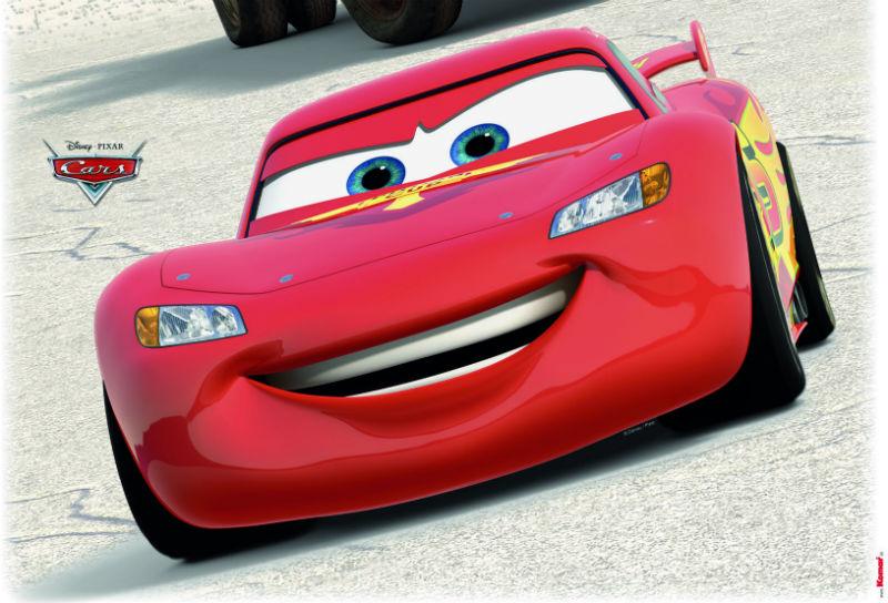 Sticker Cars - Fulger McQueen