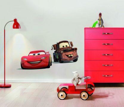 Sticker Cars - Fulger McQueen si Bucsa Interior