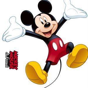 Sticker Mickey Mouse si Prietenii Detaliu 1