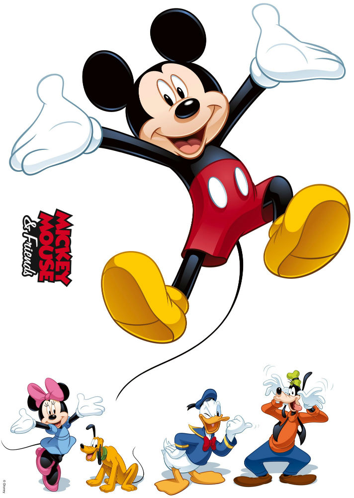 Sticker Mickey Mouse si Prietenii Produs