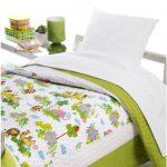Cuvertura pat matlasata pentru copii Safari