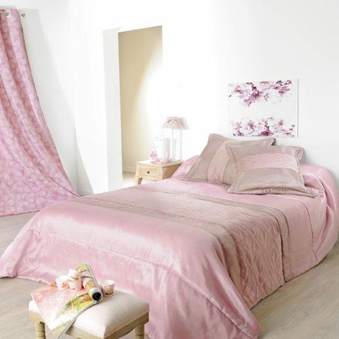 Cuvertura roz matlasata Milano