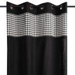 Draperie neagra bumbac Pepit - Preston catalog