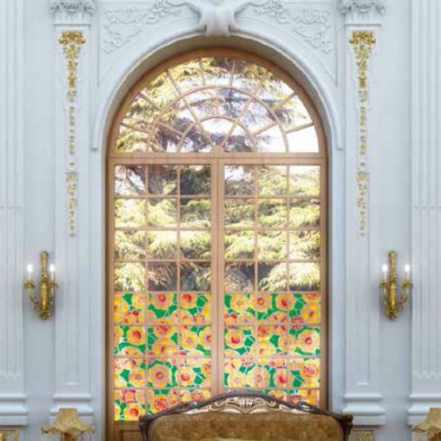 Folie geamuri vitralii Chartres - Opera