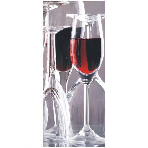 Fototapet pentru usa – Pahar de vin