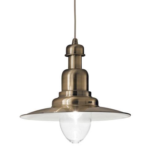 Lampa stil industrial pentru tavan Fiordi SP1 bronz