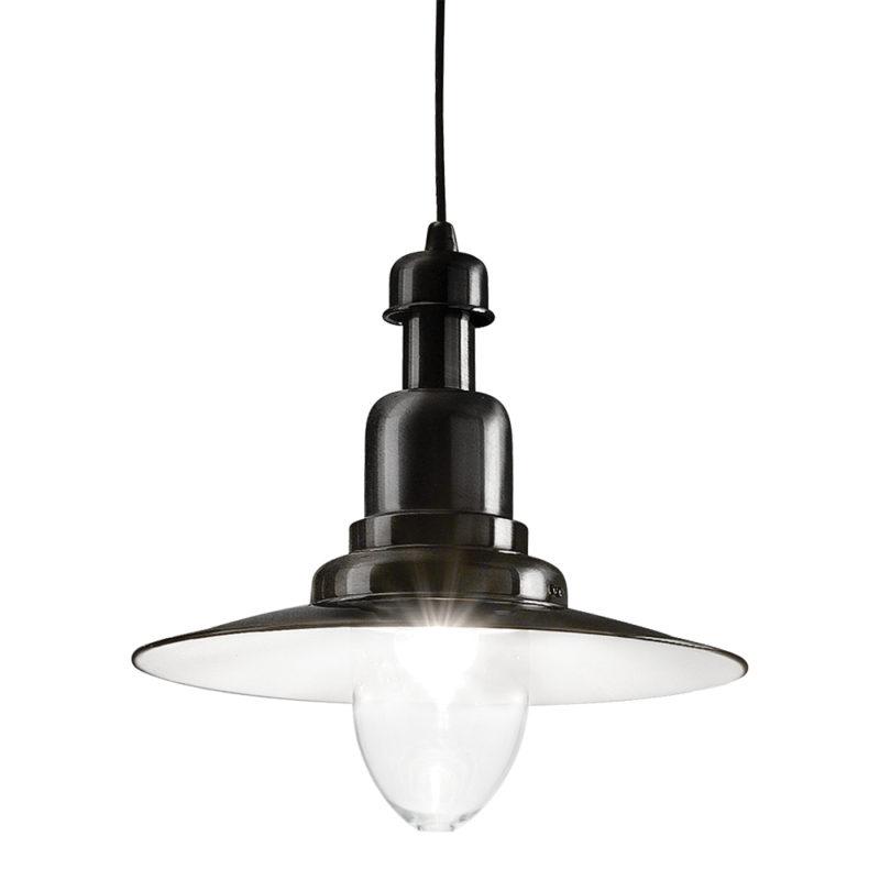Lampa stil industrial pentru tavan Fiordi SP1 negru