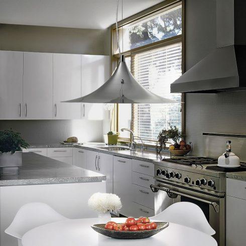 Lampa suspendata Ideal Lux - Mandarin SP1 Crom Interior