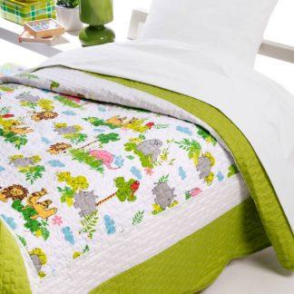 Cuvertura pat copii matlasata Safari Catalog