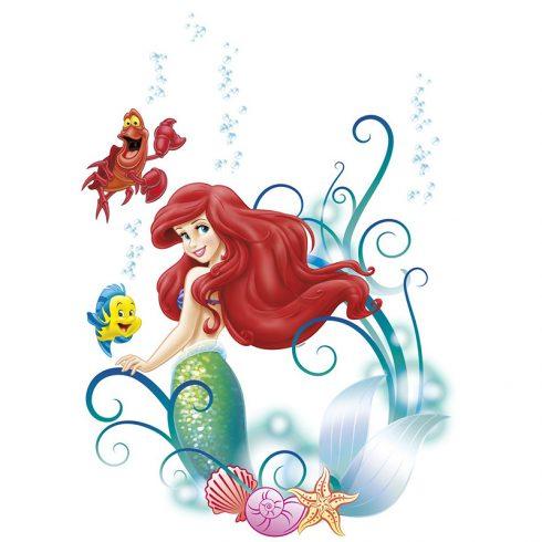 Sticker Copii Ariel Mica Sirena si Prietenii