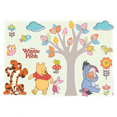 Sticker Copii Winnie the Pooh si Prietenii