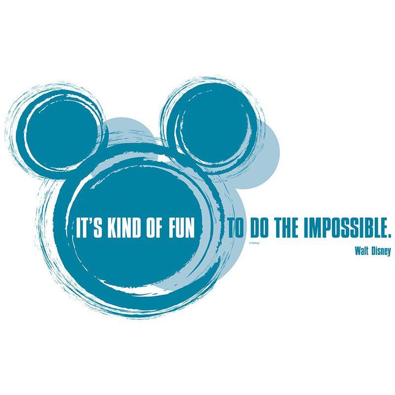 Sticker Disney - It's kind of fun