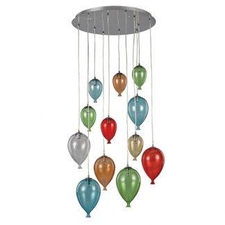 Lampa suspendata baloane - Clown SP12 Multicolor