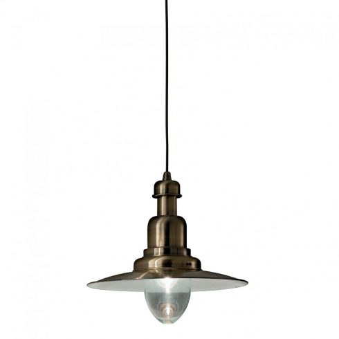Lampa stil industrial Ideal Lux - Fiordi SP1 Bronz