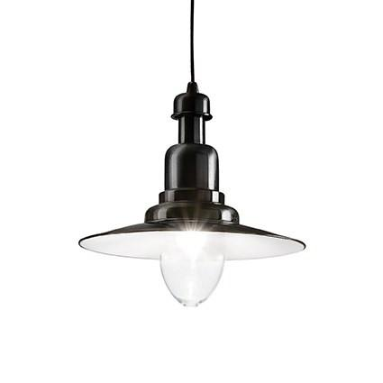 Lampa stil industrial Ideal Lux - Fiordi SP1 Negru