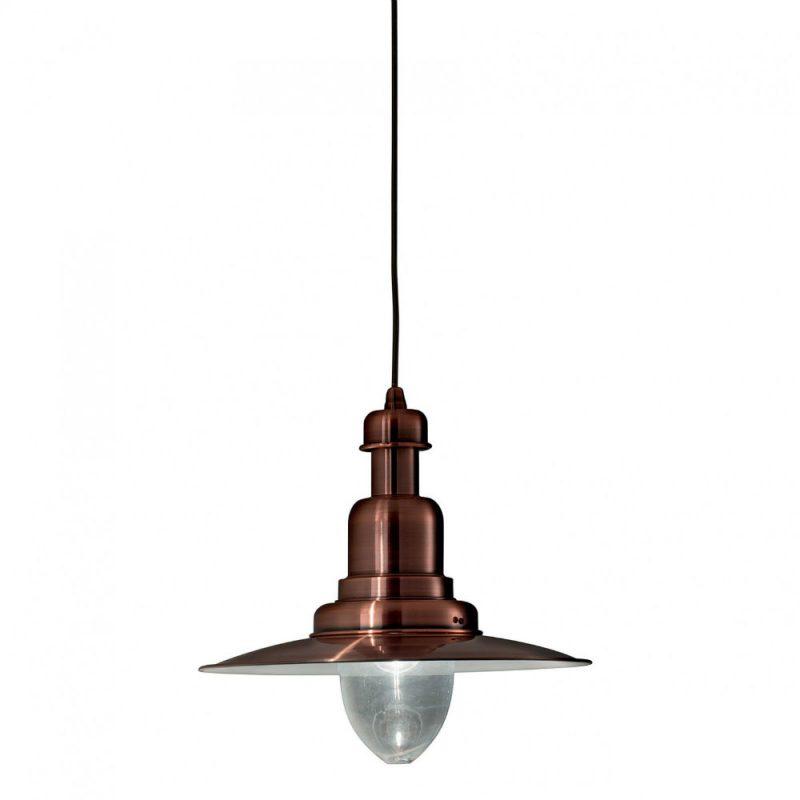 Lampa stil industrial Ideal Lux - Fiordi SP1 Cupru